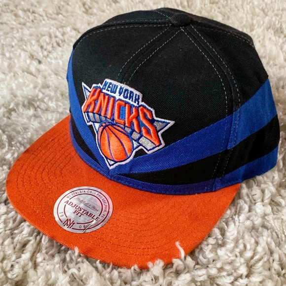 06a2bcd15f486 Mitchell & Ness Accessories | Mitchell Ness New York Knicks Snapback ...